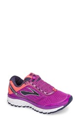 Brooks Women's 'Ghost 9' Running Shoe Purple Pink Patriot Blue