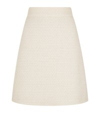 Gucci Boucle A Line Skirt Pink
