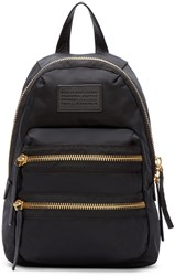 Marc By Marc Jacobs Black Domo Arigato Mini Packrat Backpack