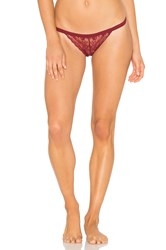 Cosabella Dolled Up G String Burgundy