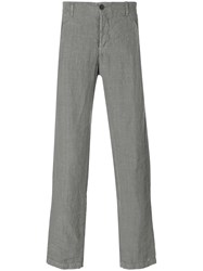 Transit Straight Leg Trousers Grey