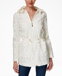 Charter Club Lace Hooded Anorak Jacket Only At Macy's Cloud