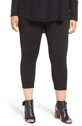 Sejour Plus Size Women's Crop Leggings