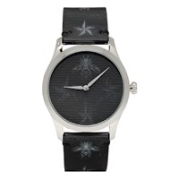 Gucci Silver Hologram Bee G Timeless Watch
