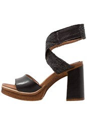 Mjus Creek High Heeled Sandals Nero Black