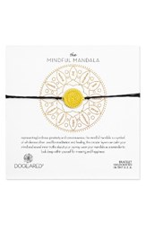 Dogeared Women's The Mindful Mandala Bracelet Gold