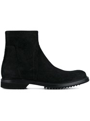 Rick Owens 'Creeper Slim' Boots Black