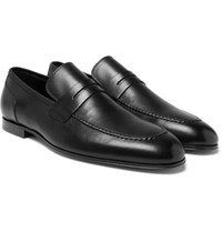 Paul Smith Chilton Leather Penny Loafers Black