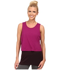 Champion Layered Tank Venture Pink Women's Workout