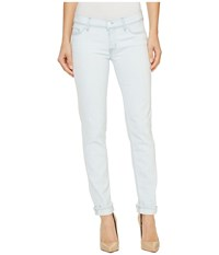 Hudson Tally Cropped Skinny Five Pocket Jeans In Lightweight Lightweight Women's Jeans White
