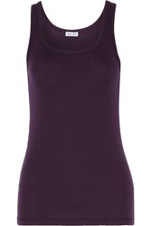 Splendid Supima Cotton And Micro Modal Blend Tank Red