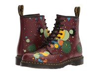 Dr. Martens 1460 Cherry Red Splatter Smooth Lace Up Boots