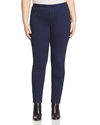 Marina Rinaldi Idro Denim Jersey Leggings Dark Navy
