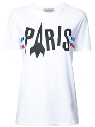 Etre Cecile 'Paris Rocket' T Shirt White