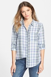 Bp Plaid Shirt Juniors Blue