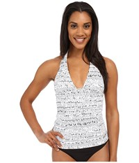 Lole Jamaica Tankini Top White Hammock Women's Swimwear