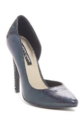 Michael Antonio Leje Glitter Pump Black