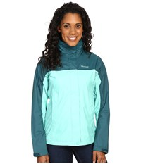 Marmot Precip Jacket Celtic Deep Teal Women's Jacket Green