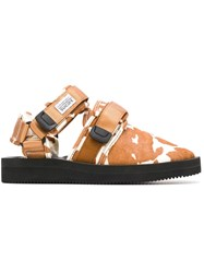 Suicoke Nots Vhl Slippers Brown