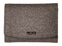 Tumi Sinclair Trifold Wallet Earl Grey Wallet Handbags Gray