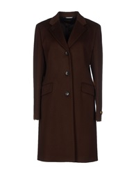 Lardini Coats Dark Brown