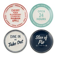 Kate Spade Order's Up Appetiser Plates Set Of 4