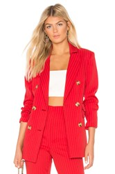 C Meo Collective Go From Here Blazer In Red