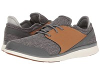 Superfeet Shaw Castlerock Chipmunk Men's Lace Up Casual Shoes Gray