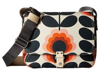 Orla Kiely Summer Flower Stem Small Satchel Sunset Satchel Handbags Multi