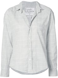 Frank And Eileen 'Barry Fit' Shirt Women Cotton S Grey