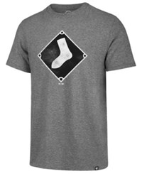47 Brand '47 Men's Chicago White Sox Coop Triblend Match T Shirt Gray