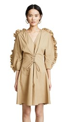 Delfi Collective Athene Dress Camel