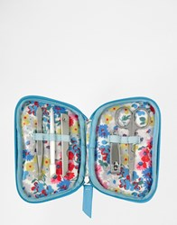 Cath Kidston Zip Manicure Set Small Daisy Small Daisy Bed Clear