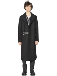 Lanvin Wool Cloth Robe Style Coat