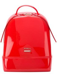 Furla Candy Backpack Red