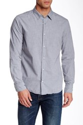 Save Khaki Melange Simple Classic Fit Shirt Gray