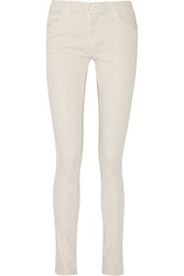 Mm6 Maison Margiela Cotton Twill Skinny Pants