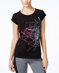 Ideology Graphic T Shirt Only At Macy's Classic Black