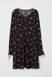 Handm H M Dress With Buttons Black