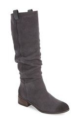 Women's Bp. 'Traffic' Slouch Boot Charocal Suede