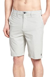 Billabong Men's Big And Tall Crossfire X Twill Hybrid Shorts Silver