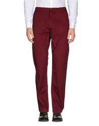 Fred Perry Trousers Casual Trousers Maroon