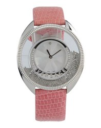 Versace Timepieces Wrist Watches Women Pastel Pink