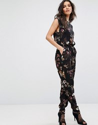 Y.A.S Canto Jumpsuit Black