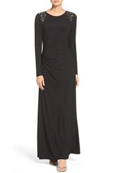 Vince Camuto Women's Embellished Jersey Gown