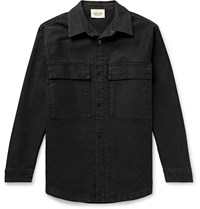 Fear Of God Cotton Canvas Shirt Jacket Black