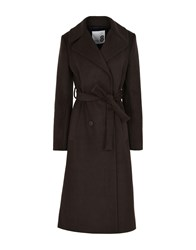 8 Coats And Jackets Coats Dark Brown