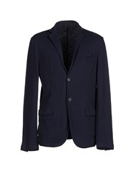 Cooperativa Pescatori Posillipo Suits And Jackets Blazers Men Dark Blue