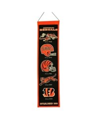 Winning Streak Cincinnati Bengals Heritage Banner Team Color