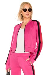 Pam And Gela Cropped Track Jacket Pink